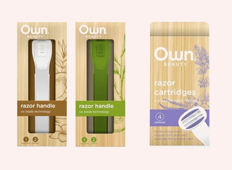OWN Beauty Cruelty-Free Razors for Women