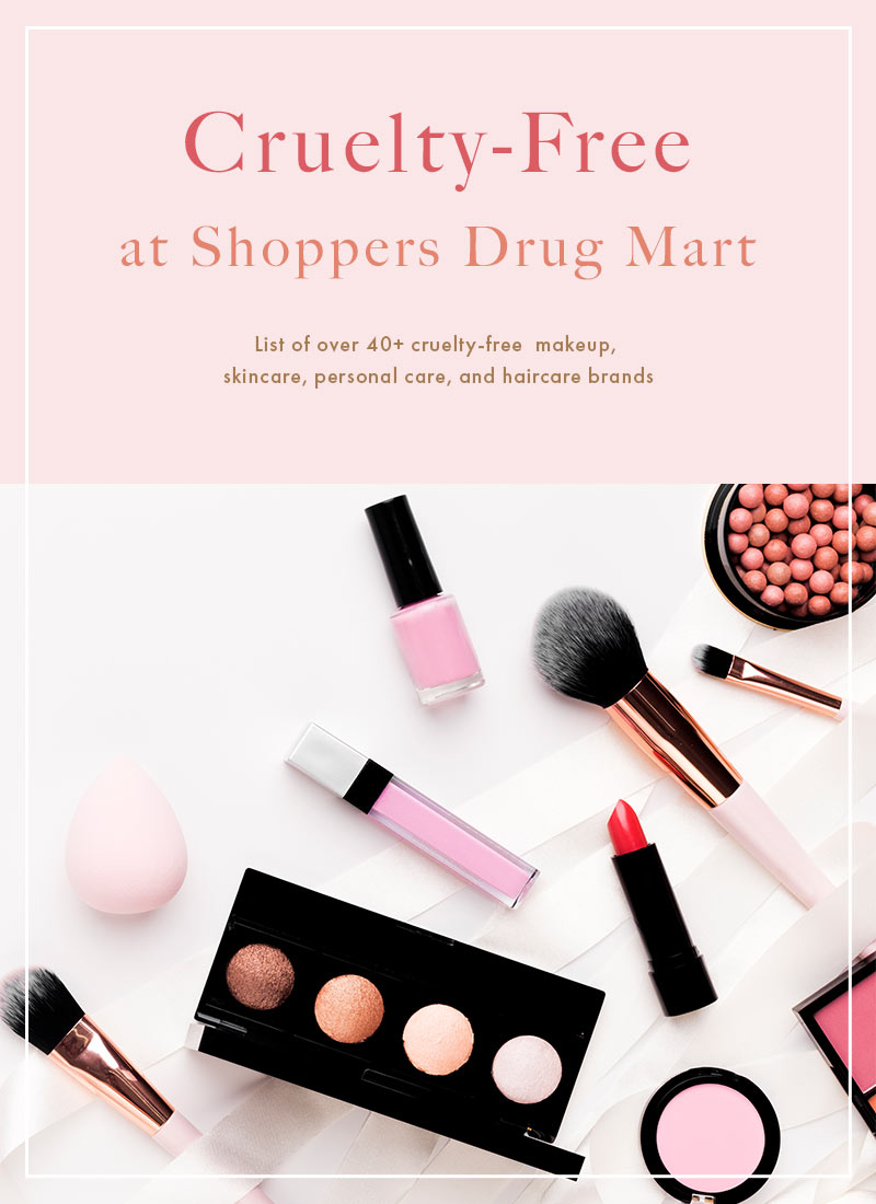 Cruelty-Free Brands at Shoppers Drug Mart