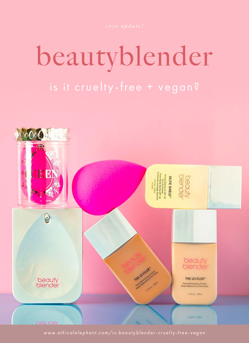 Is beautyblender cruelty-free and vegan?