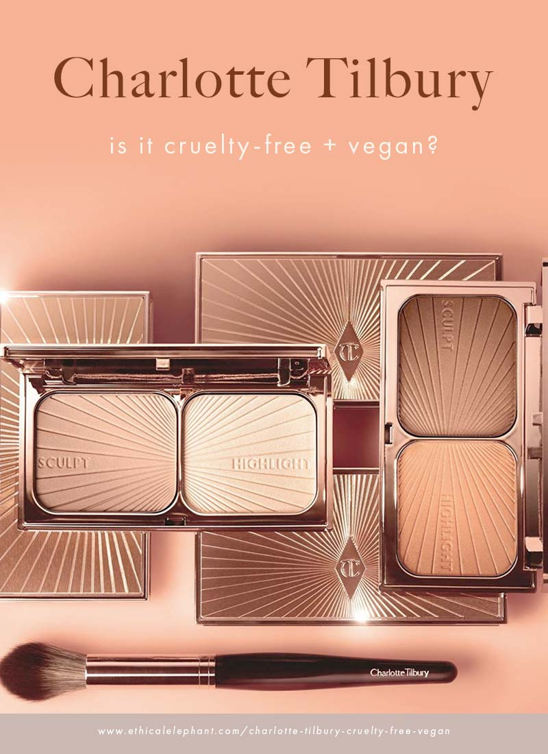 Is Charlotte Tilbury cruelty-free and vegan?