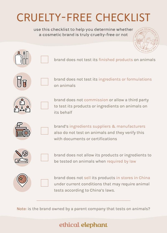 Complete Cruelty-Free Checklist