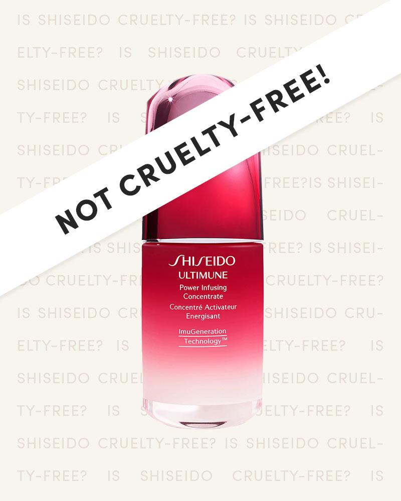 Shiseido is NOT Cruelty-Free!
