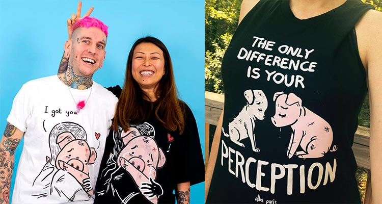 Alba Paris Art - Original artwork vegan shirts
