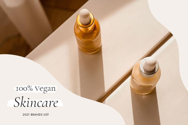 100% Vegan Skincare Brands