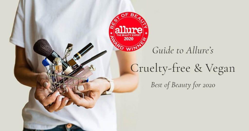 Allure Cruelty-Free & Vegan Best of Beauty for 2020