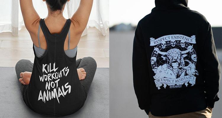 Anticarnist - Metal AF Vegan Shirts and Clothing