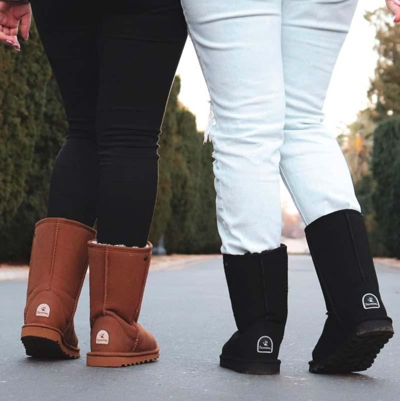 Are Bearpaw Boots Vegan?
