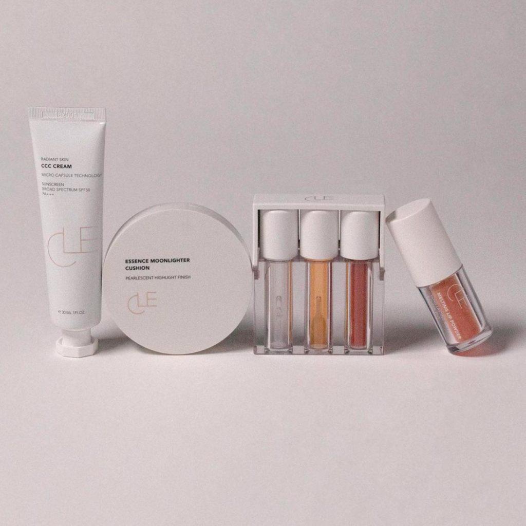 CLE Cosmetics minimalist makeup and skincare line