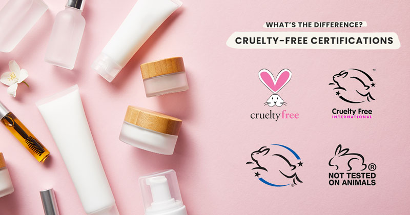 What's the difference between each certified cruelty-free logo?