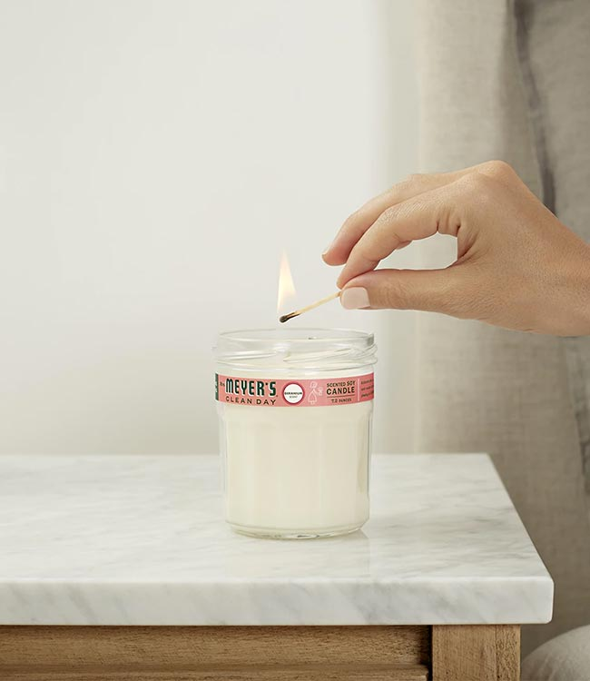 Mrs. Meyer's Soy Candles