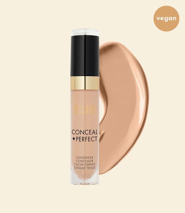 Milani Conceal + Perfect Longwear Concealer is Vegan!