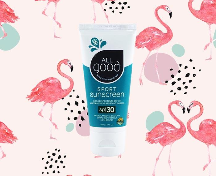 All Good Sport Sunscreen Lotion