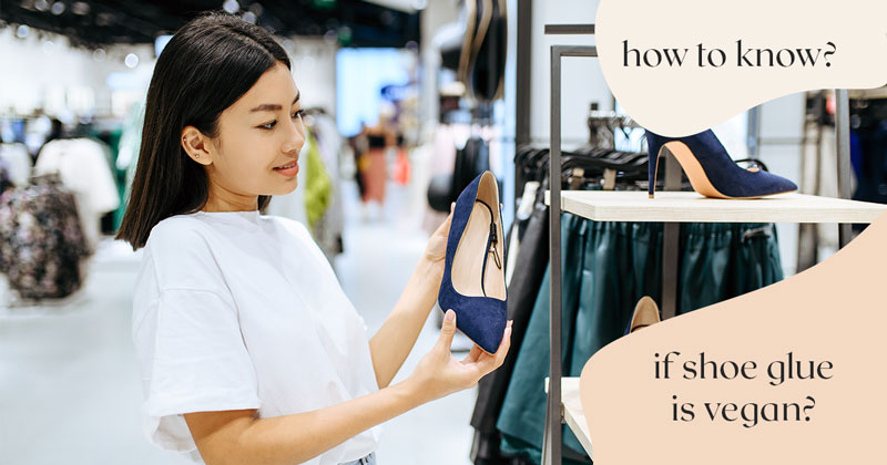 how to know if shoe glues are vegan?
