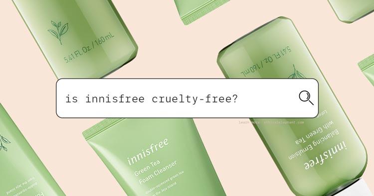 Is Innisfree Cruelty-Free?