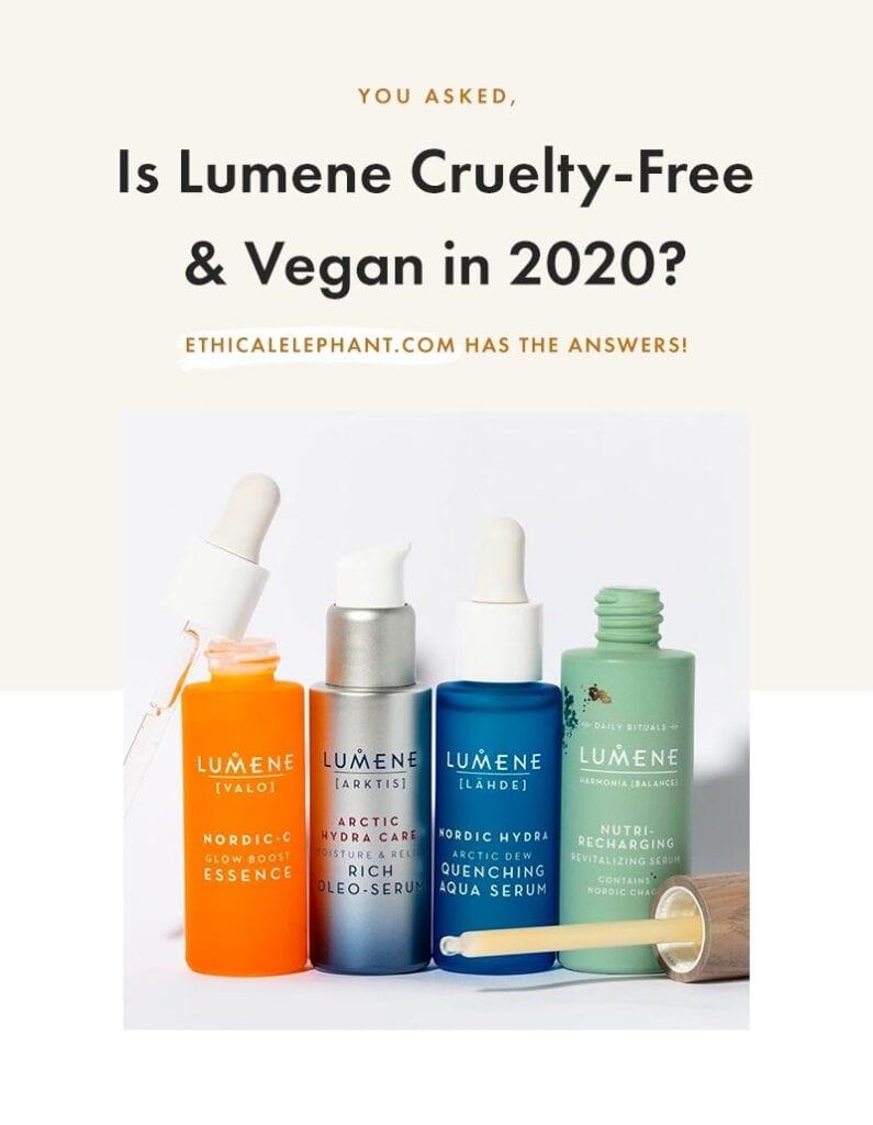 Is Lumene Cruelty-Free & Vegan?