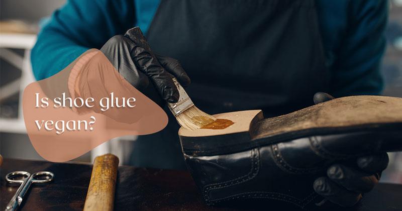 is shoe glue vegan?