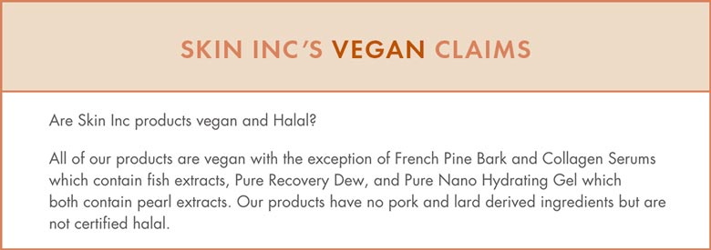 Skin Inc Vegan Claims But They're NOT Cruelty-Free!