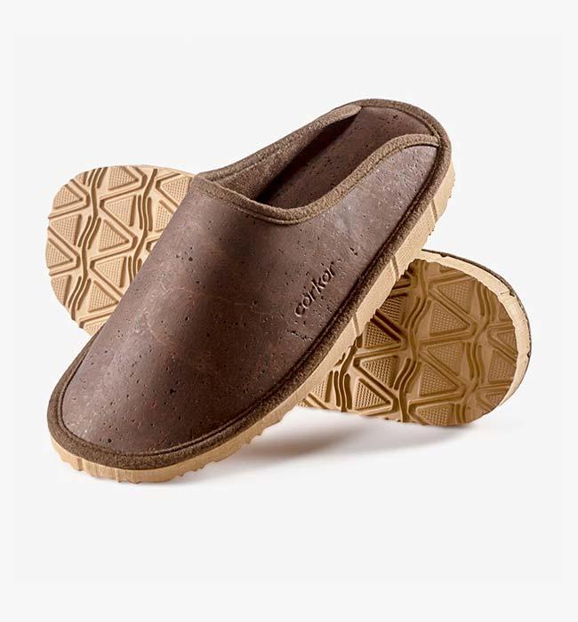 Corkor Cork Slippers Mens