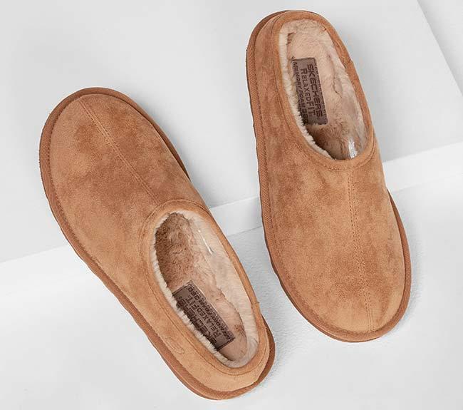 Faux Fur Men's Vegan Slippers