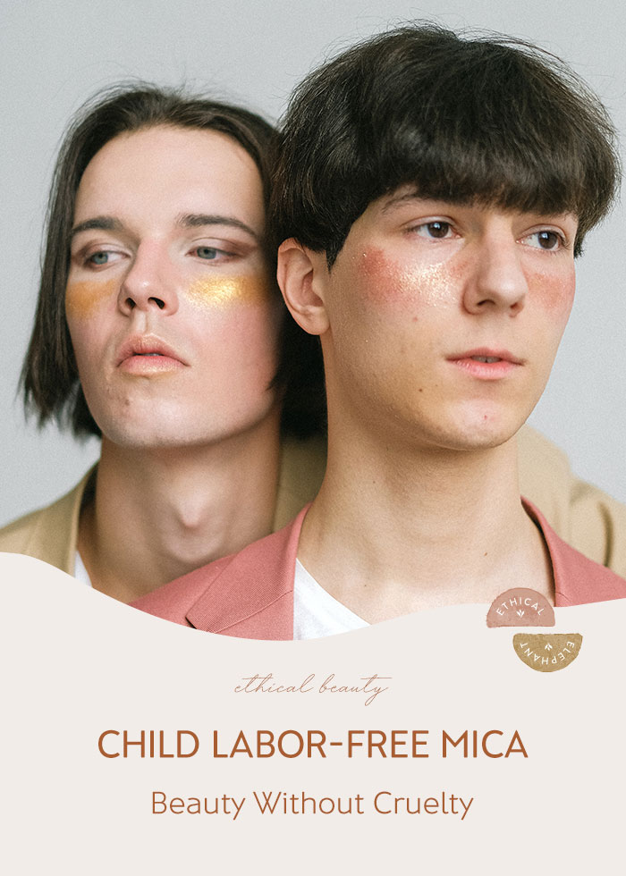 """Child Labor-Free & Ethical Mica in Makeup for Beauty that's TRULY """"Cruelty-Free"""""""