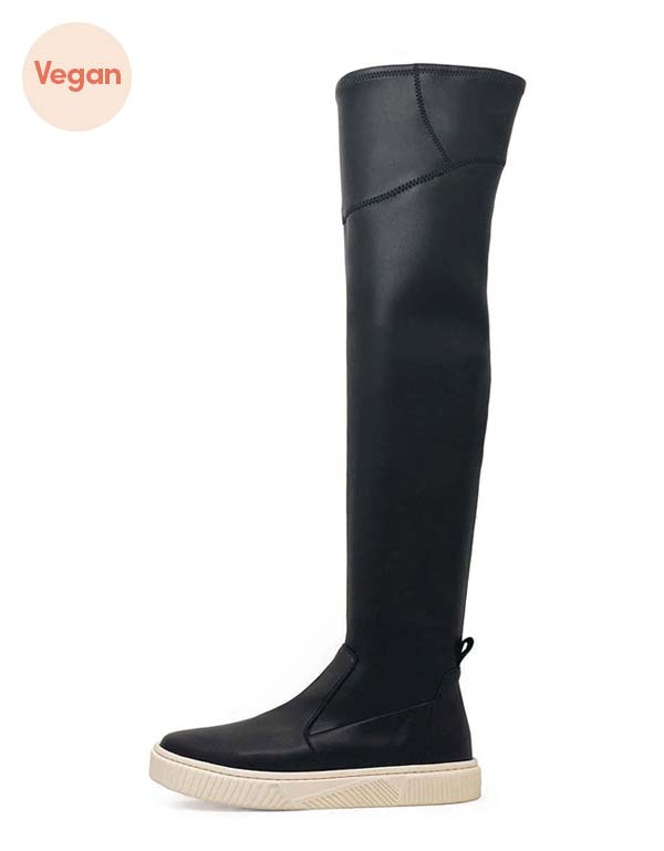 Tall Sneaker Vegan Boot by Mireia Playa