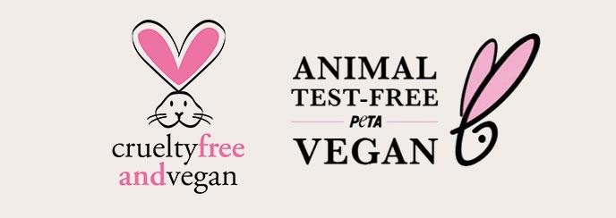 PETA Cruelty-Free & Vegan Certified Logo