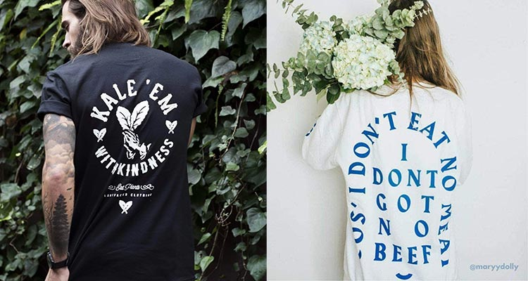Plant Faced Clothing - ethical vegan streetwear brand