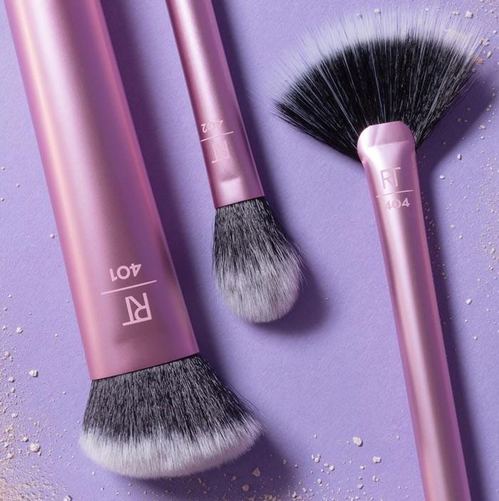 Real Techniques - Drugstore Vegan Makeup Brushes