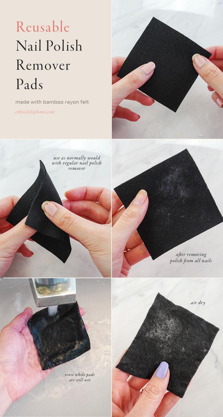 How To Use: Reusable Nail Polish Remover Pads