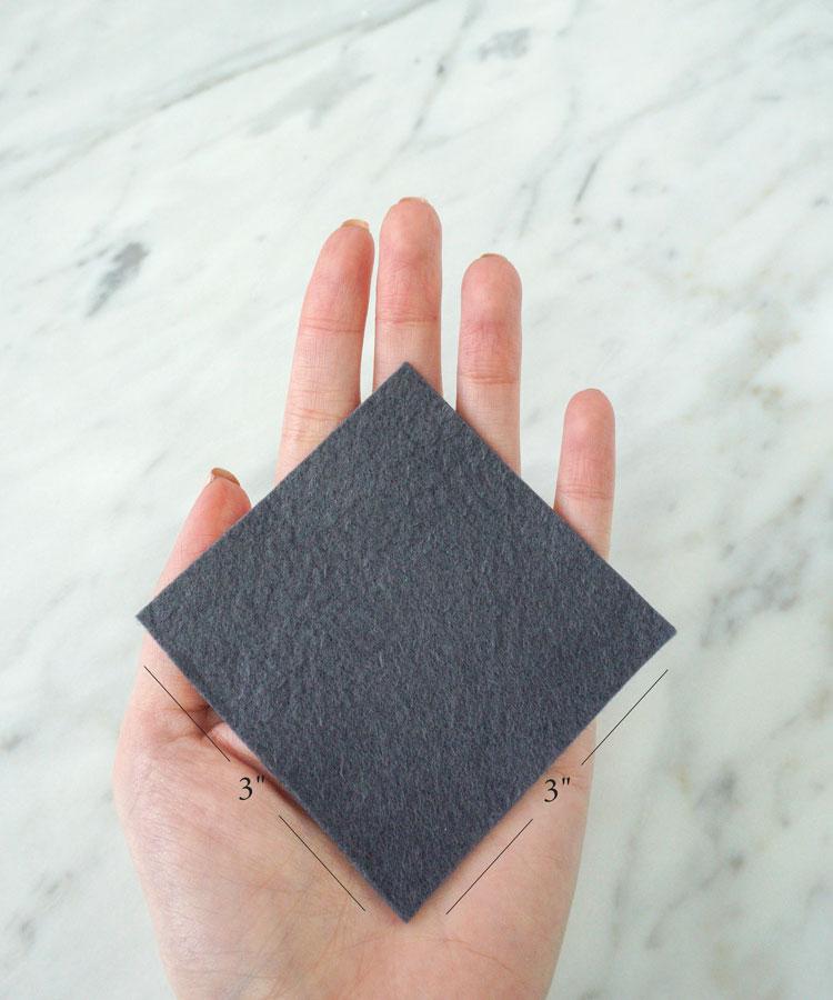 Grey - Reusable Nail Polish Remover Pad