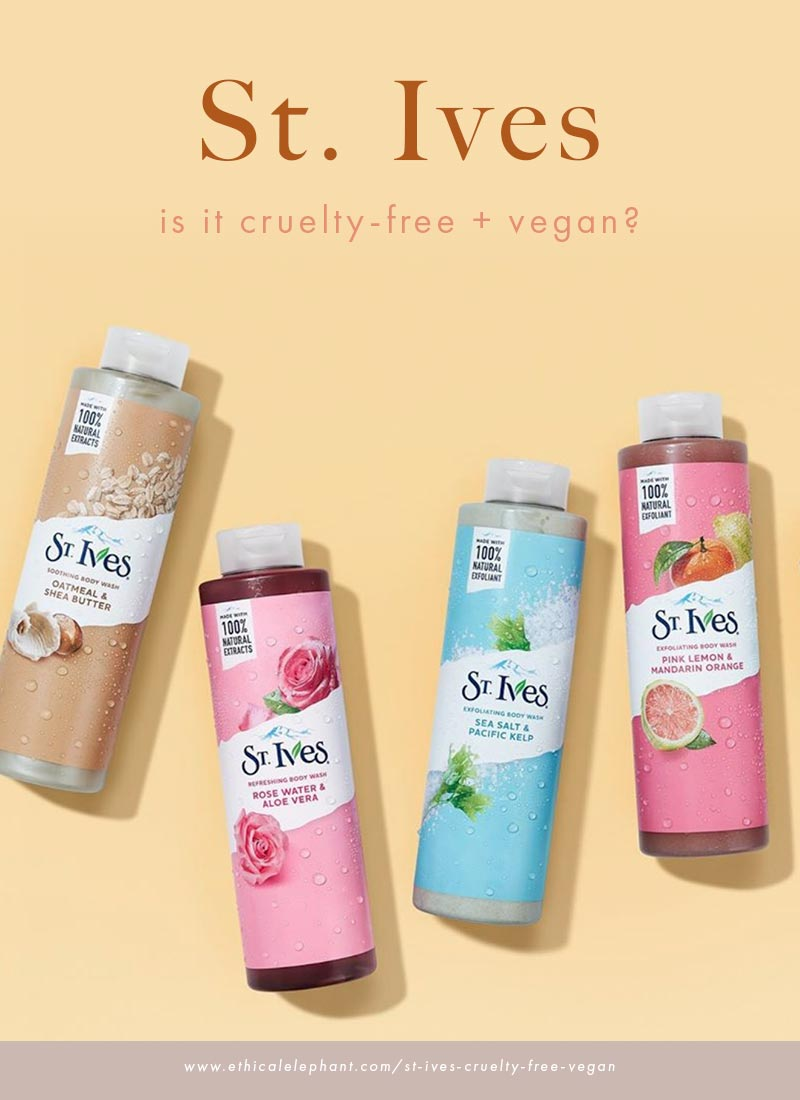 Is St. Ives Cruelty-Free and Vegan?