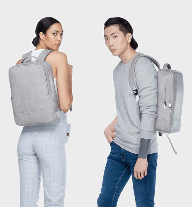Unisex Vegan Laptop Backpack by Labante