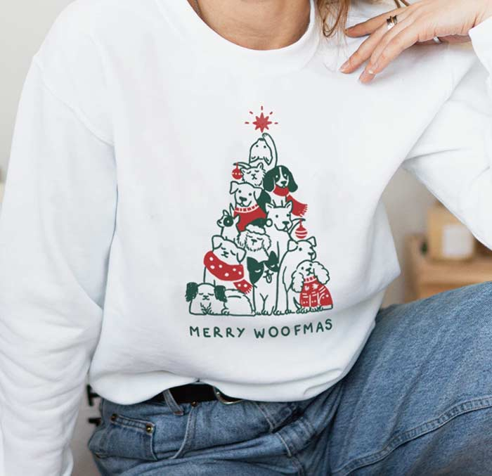Merry WOOFmas by Wholesome Culture