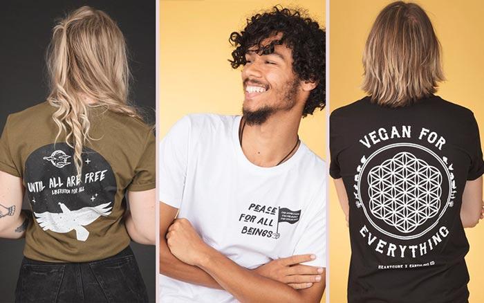 HeartCure Clothing - Vegan Etsy Shirts