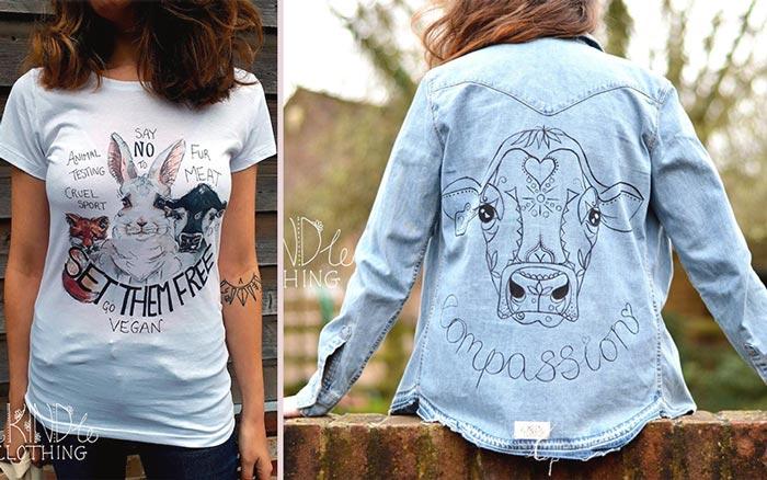 Rekindle Clothing - Vegan Etsy Shirts