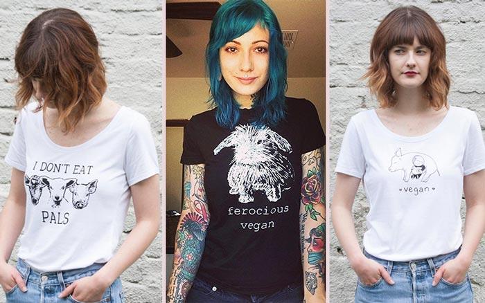 Vegan Police - Vegan Etsy Shirts