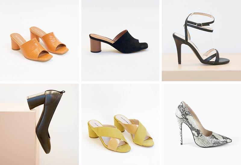 Collection & Co sustainable vegan heels
