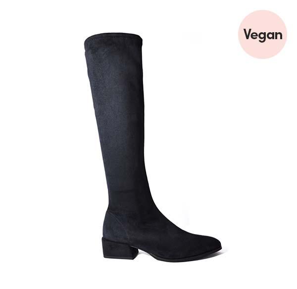 Elegant Vegan Knee-High Boot