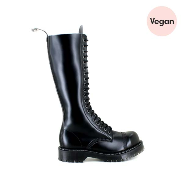 Airseal 20 Eye Boot Smooth in Black