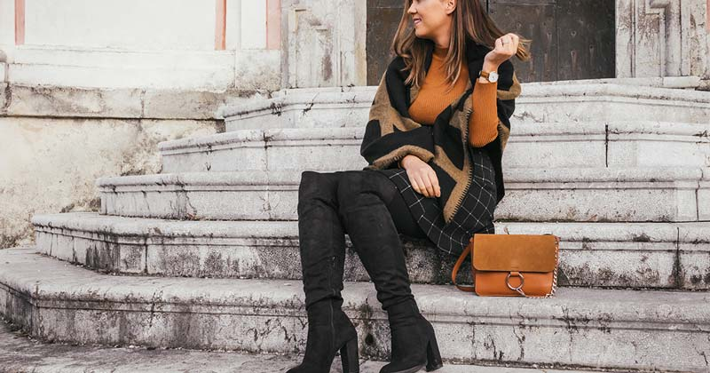 Vegan Knee High Boots for Fall/Winter 2020