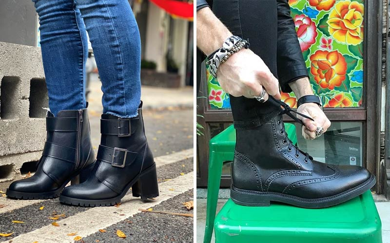 Novacas Vegan Leather Boots
