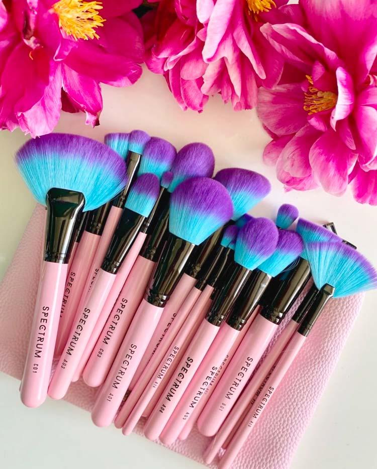 Spectrum Collections Vegan Makeup Brushes