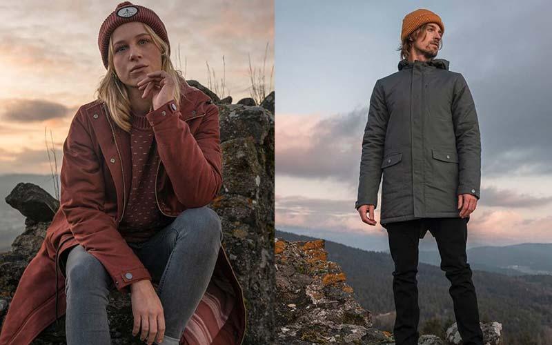 bleed Vegan Parka & Winter Coats