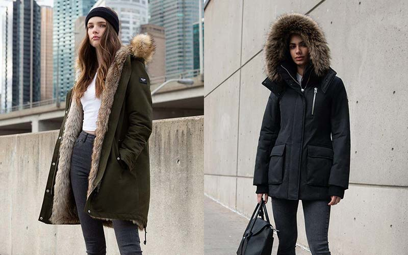 For All Kind Women's Vegan Parka & Winter Coats