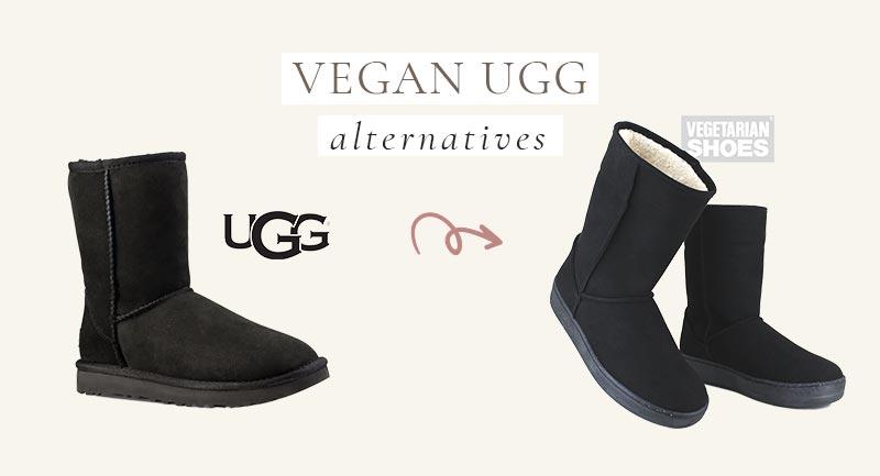 Vegan UGG Alternative to their classic short boots