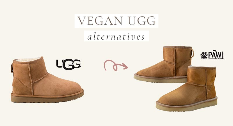 Vegan UGG Alternative to their classic mini boots