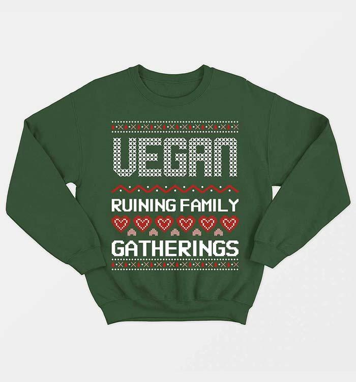 Vegan Ruining Family Gatherings by Vegan Outfitters