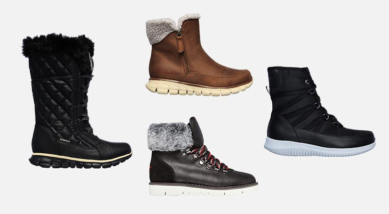 Skechers - Vegan Cold Weathered Boots