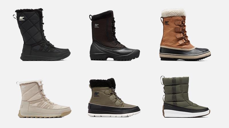 SOREL - Vegan Boots for Winter