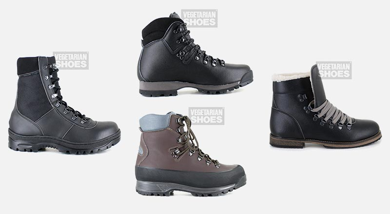 Vegetarian Shoes Offers Vegan Leather Boots for Winter